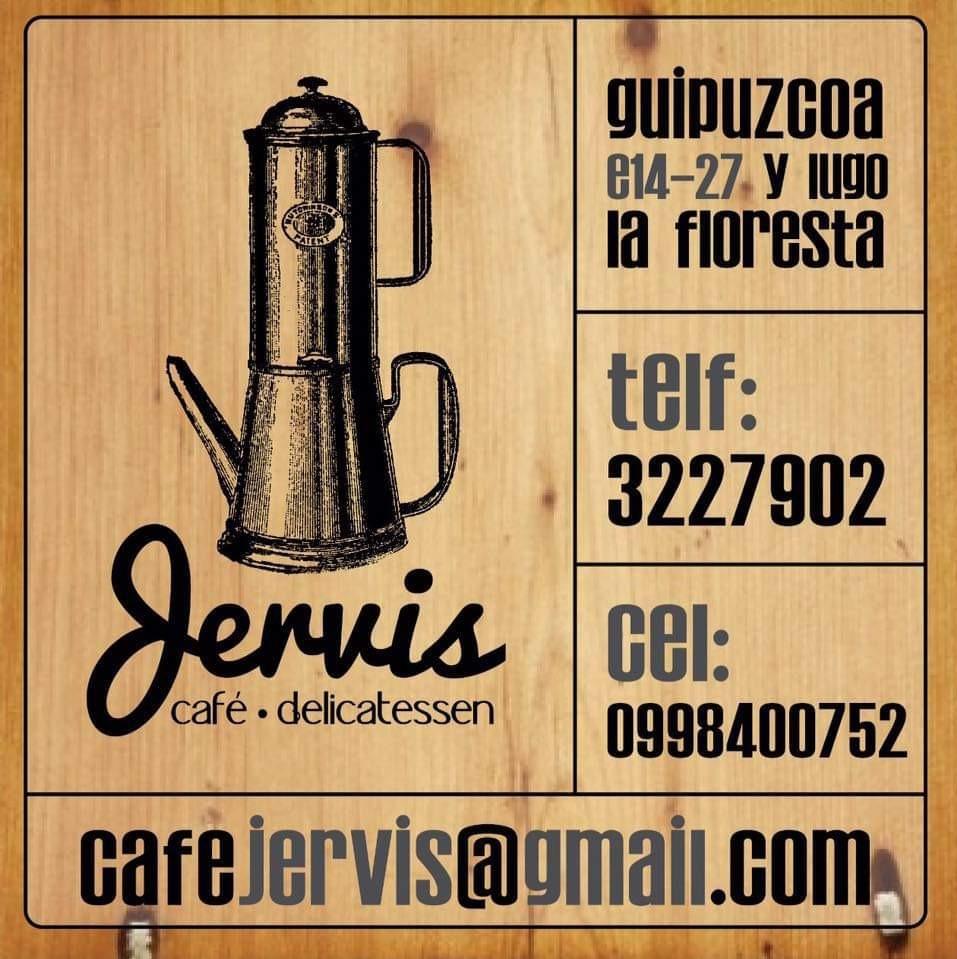 Organizador: Café Jervis